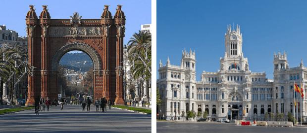 Madri ou Barcelona? Descubra qual cidade combina mais com você