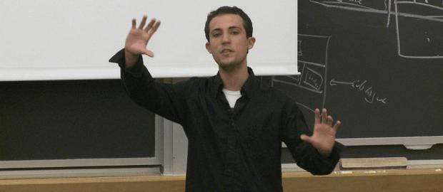 Gabriel Guimarães, um dos melhores alunos da sua turma na universidade mais renomada do mundo