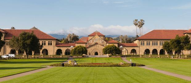 Conheça o campus de Stanford através de um passeio virtual de bicicleta
