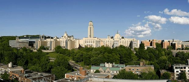 campus da Universidade de Montréal, em Montréal, Canadá