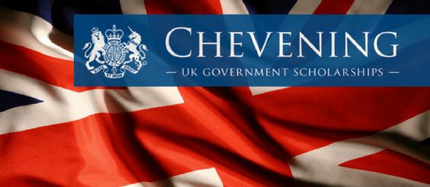 Inscrições abertas para as bolsas Chevening, do Reino Unido