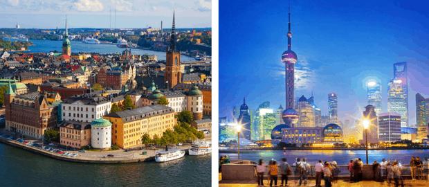 Concursos oferecem como prêmios viagem à China e à Suécia