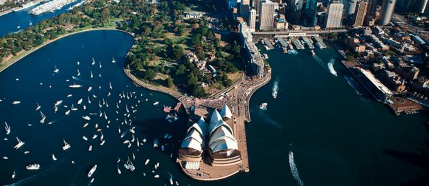 estudo e trabalho em Sydney