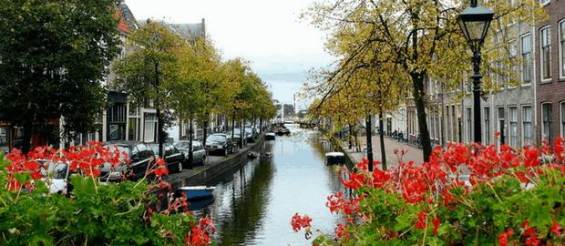 Canal na Holanda