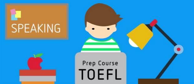 Logo Prep Course TOEFL Speaking