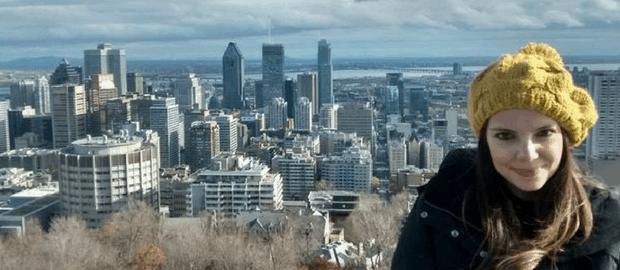 Ela recorreu à reprovação da bolsa e conseguiu estudar no Canadá de graça!