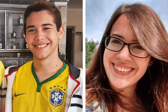 Dayanne Rolim e Rogério Júnior, brasileiros aprovados pelo MIT em 2017