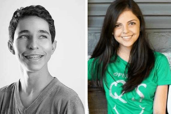 Karina Pimenta e Gustavo Coutinho,brasileiros aprovados em Harvard em 2017